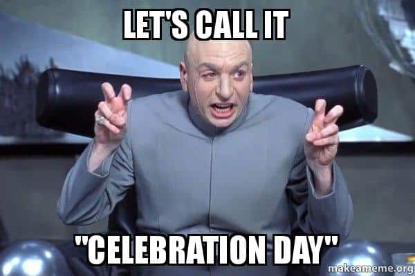 celebration day meme