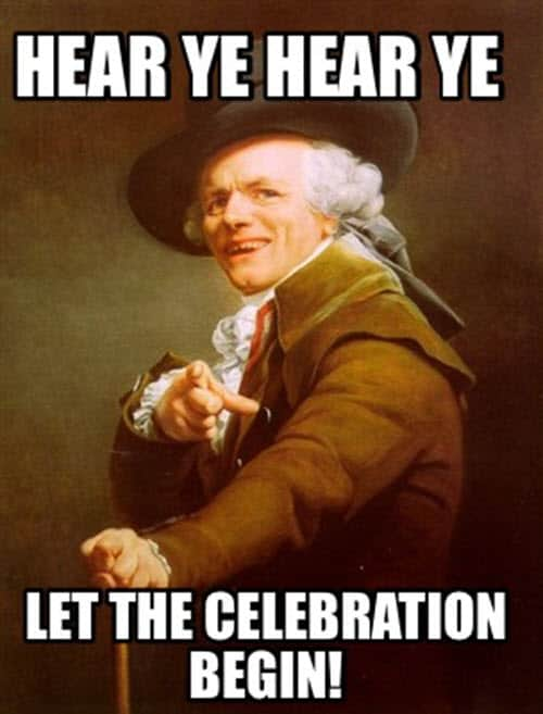 celebration hear ye meme