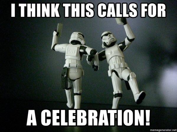celebration this calls meme