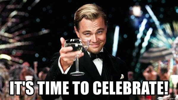 celebration time meme
