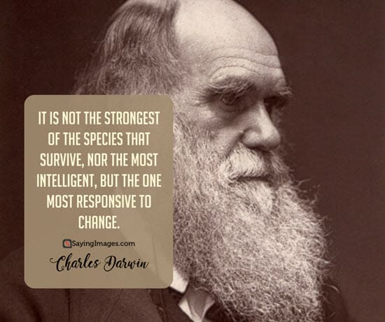 charles darwin change quotes