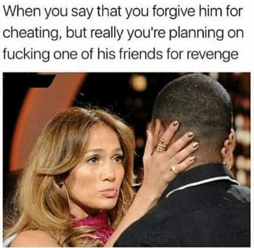 cheating revenge memes