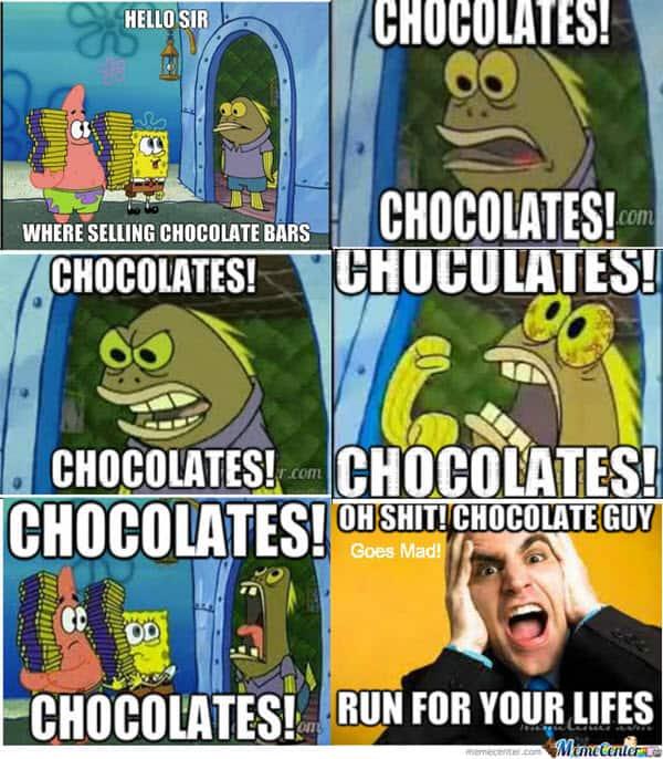 chocolate guy memes