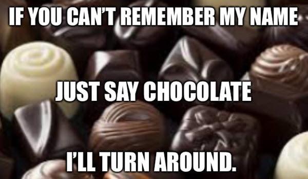 chocolate name memes