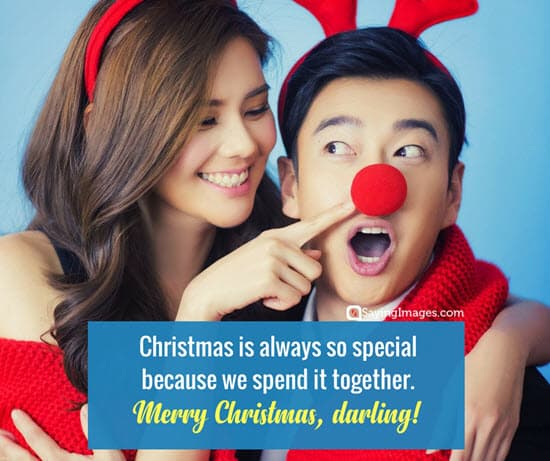 christmas day romantic quotes