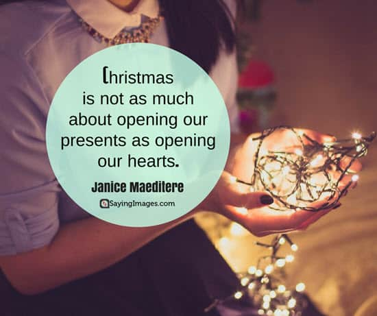 christmas quote inspiring