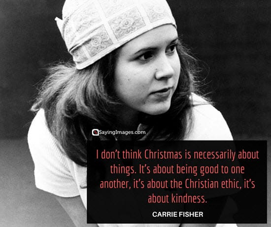 christmas quotes carrie fisher