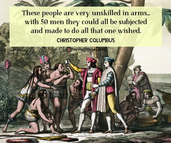 christopher columbus quotes sayings