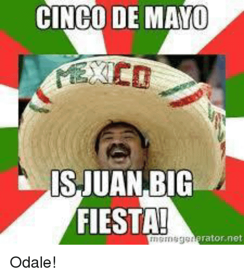 20 Hilarious Cinco De Mayo Memes Sayingimages Com