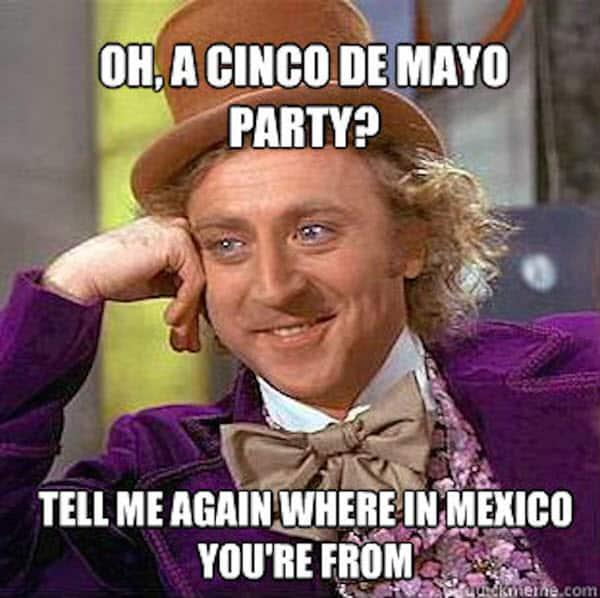 cinco de mayo party meme