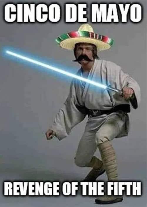 cinco de mayo revenge of the fifth meme