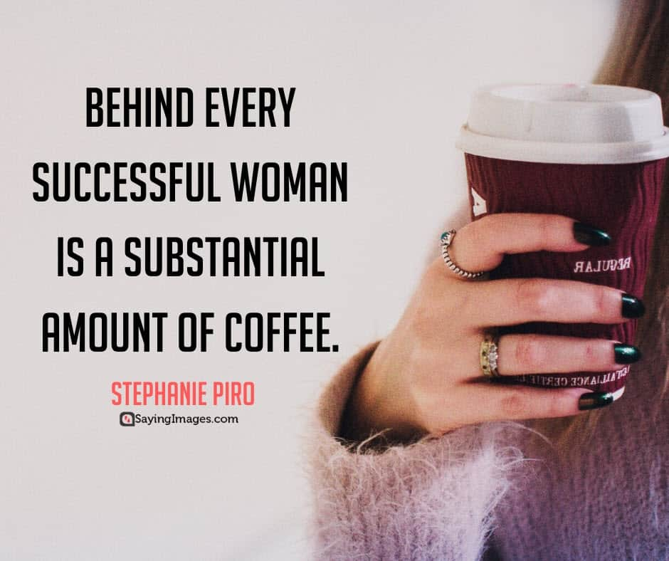 coffee woman quotes
