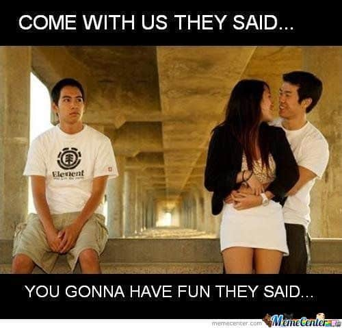 17 Funny Third Wheel Memes For People Who Are Always Alone ...