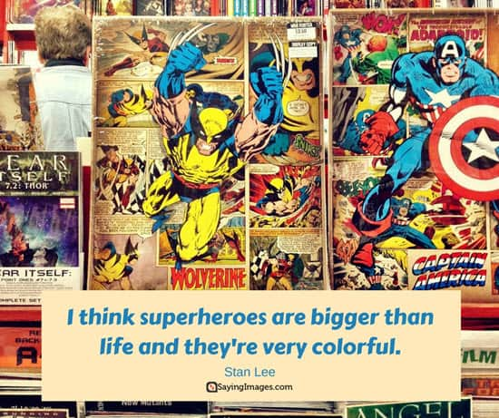comic books quote