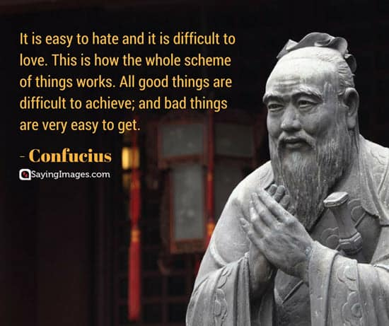 confucius hate quotes