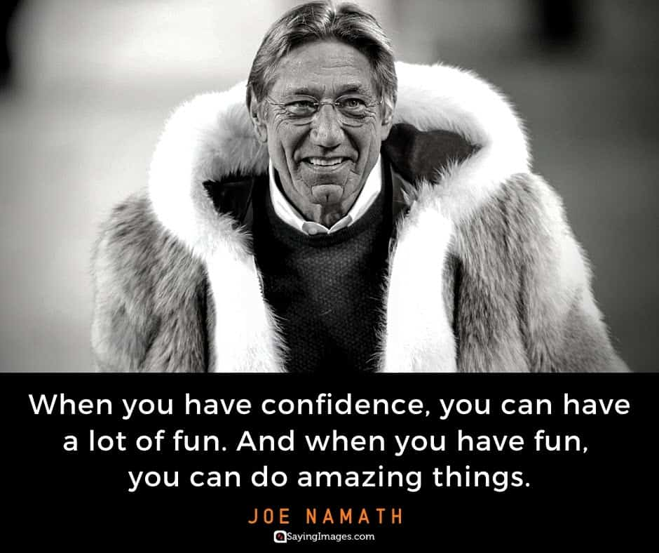cool confidence quote sayings