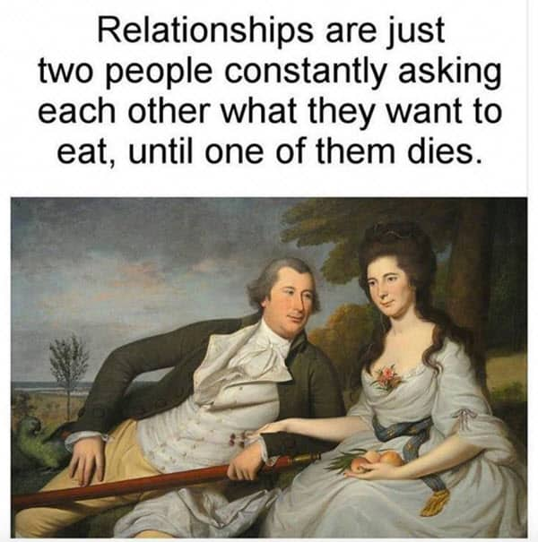 couple what to eat memes