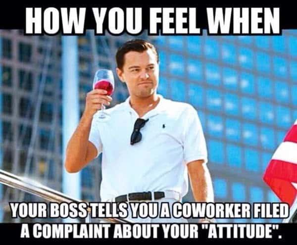 coworker how you feel meme