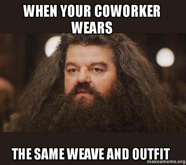 coworker meme hagrid