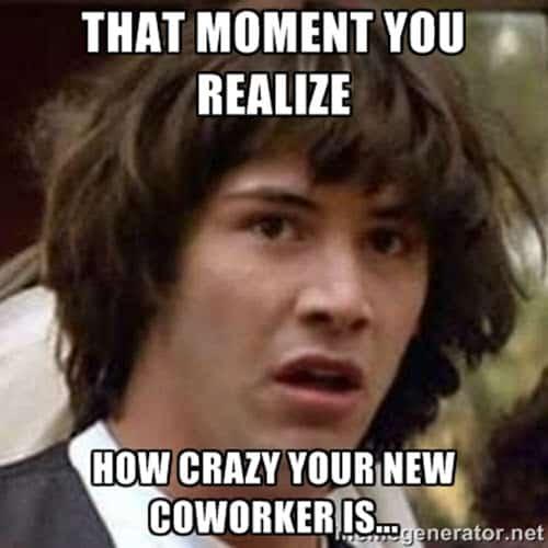 coworker moment meme