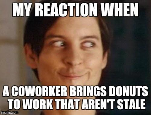 coworker reaction meme