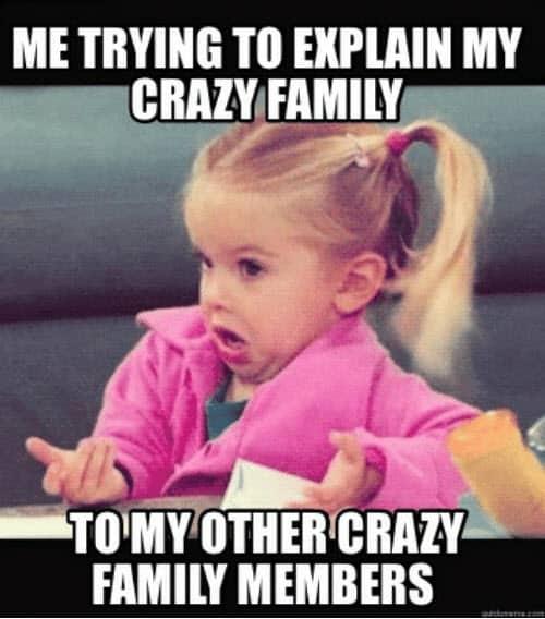 crazy family memes