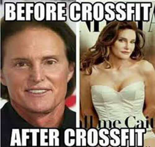 crossfit before and after meme