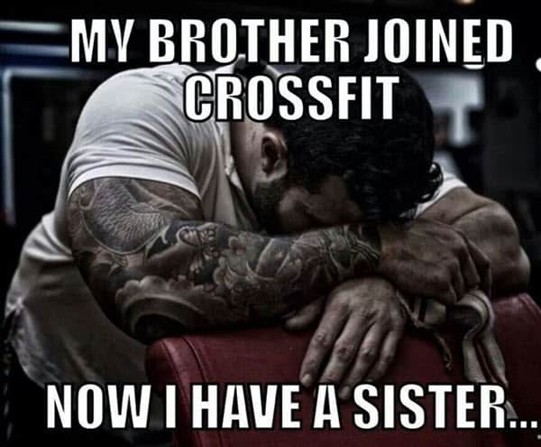 crossfit brother meme