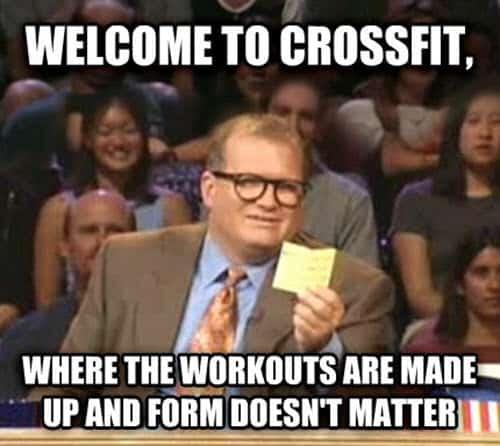 crossfit welcome meme