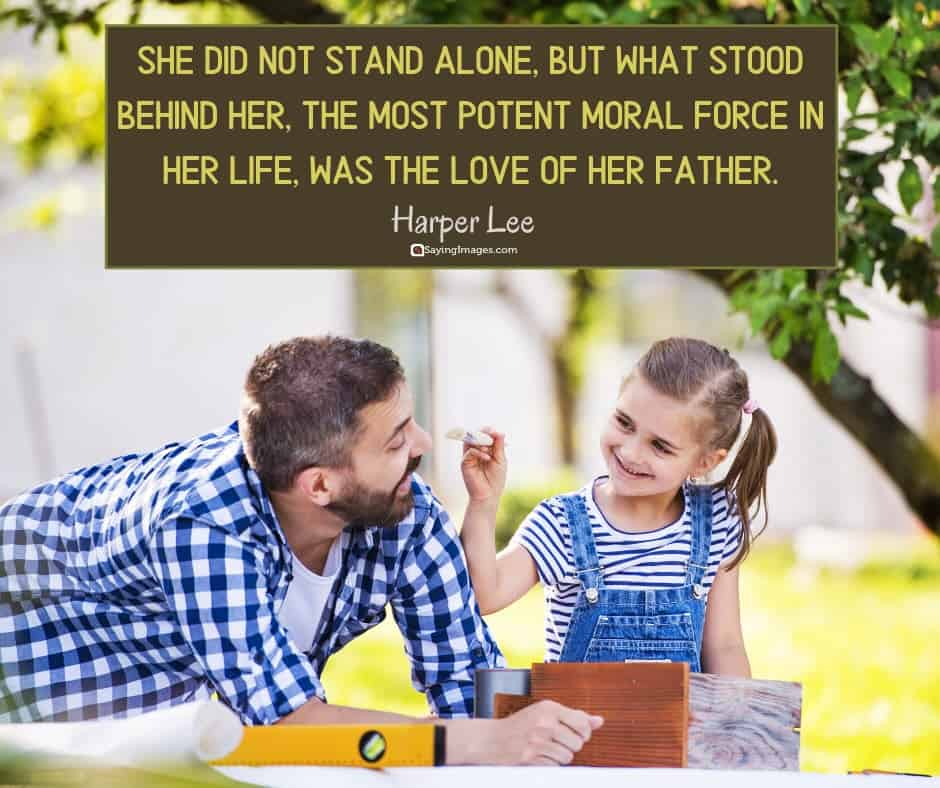 dad alone quotes