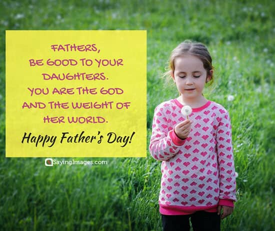 Happy Father\'s Day Quotes From Daughter | SayingImages.com