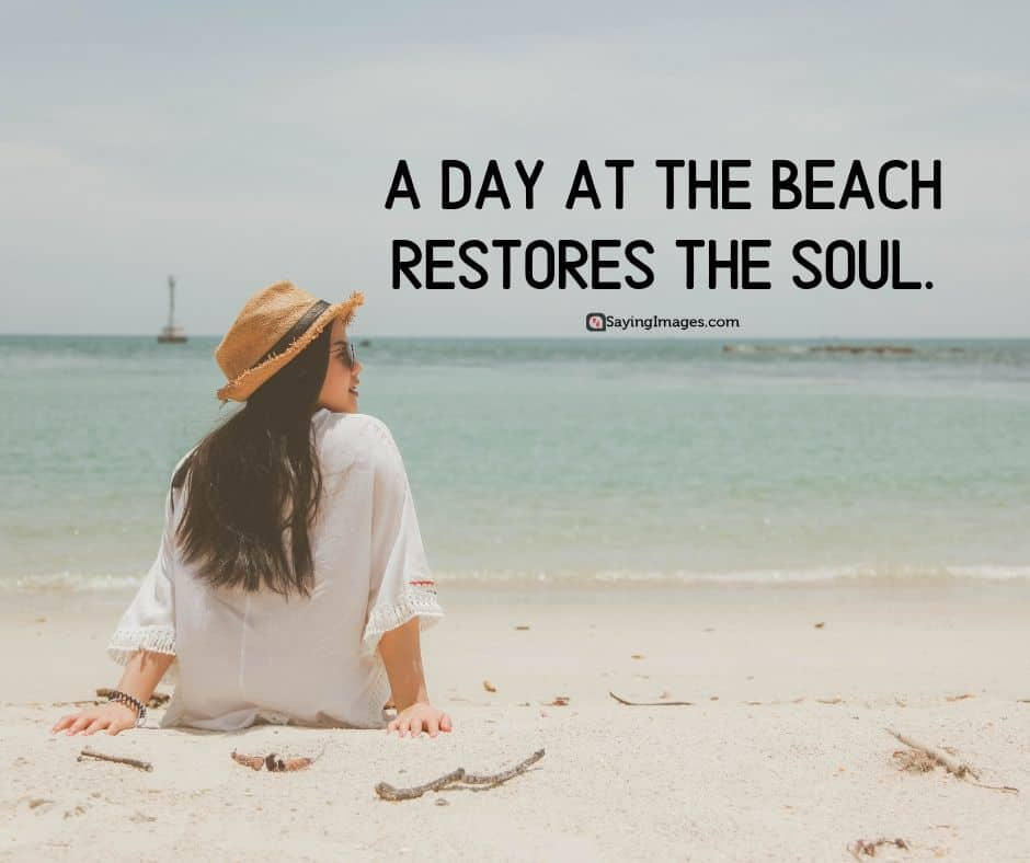 day at the beach quotes