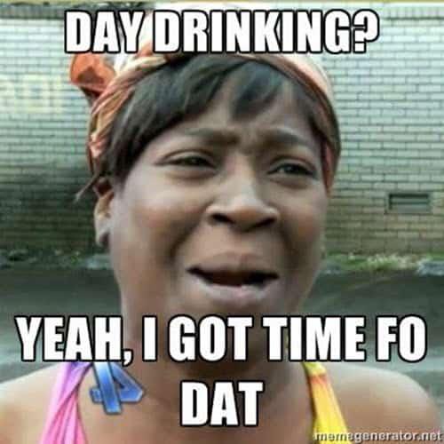 day drinking meme