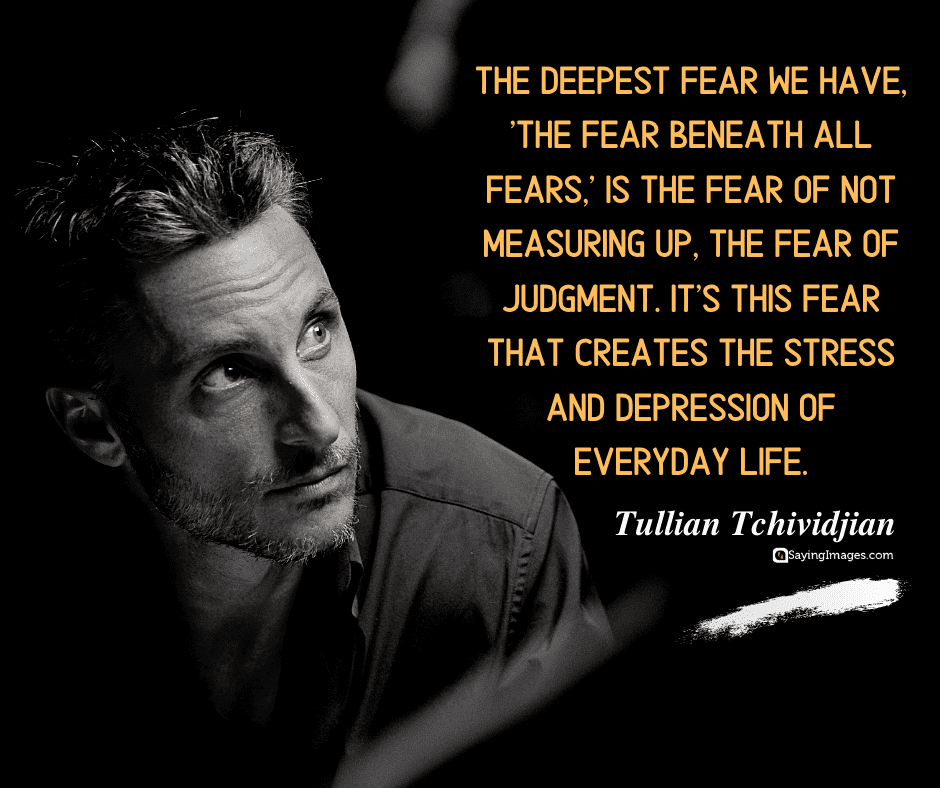 depression fear quotes