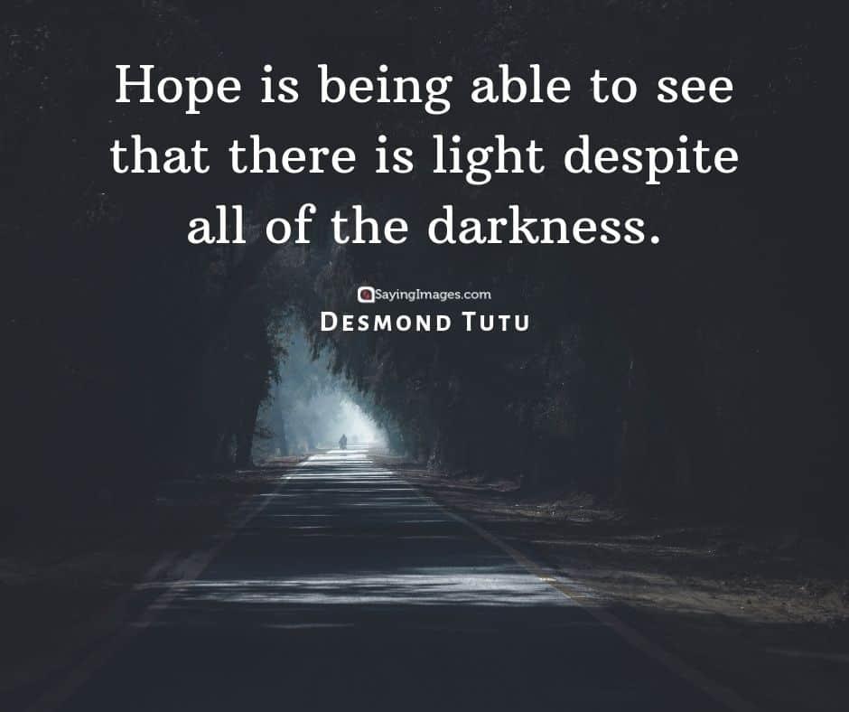 desmond tutu hope quotes