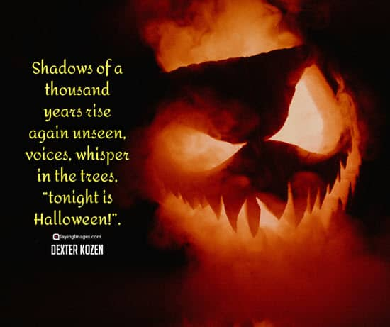 dexter kozen halloween quotes