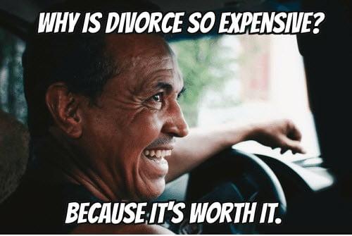 divorce expensive memes