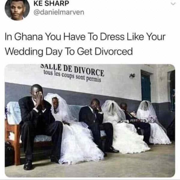 divorce in ghana memes
