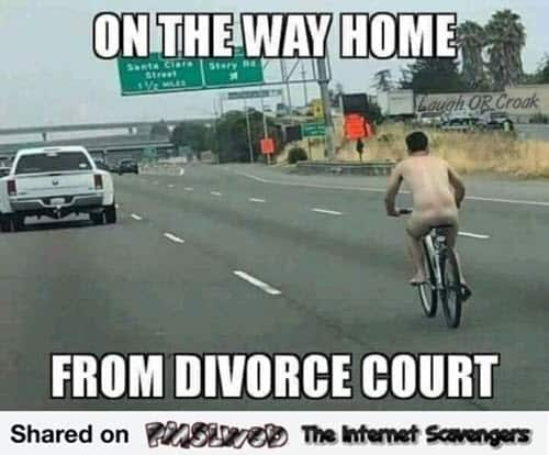 divorce on the way home memes