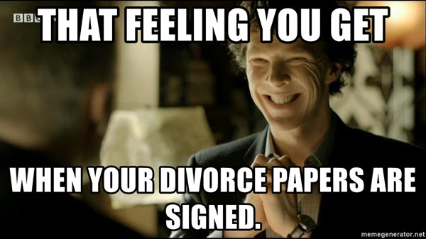 divorce that feeling you get memes