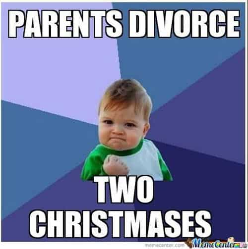 divorce two christmases memes