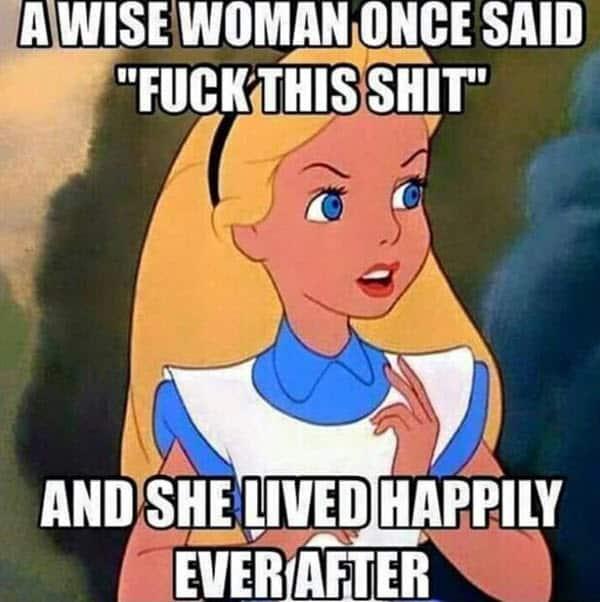 divorce wise woman memes