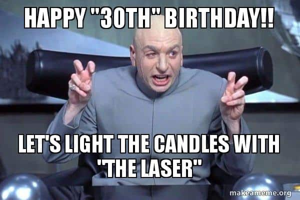 20 Awesome 30th Birthday Memes Sayingimagescom