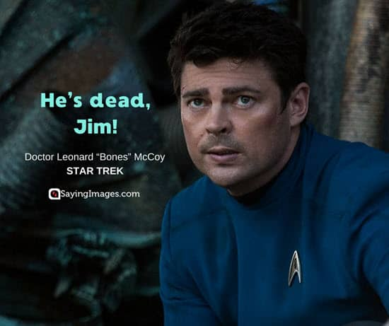 dr mccoy quotes