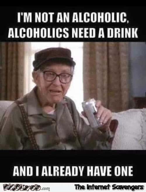 drinking alcoholic meme