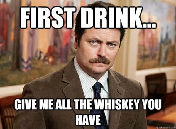 drinking first meme