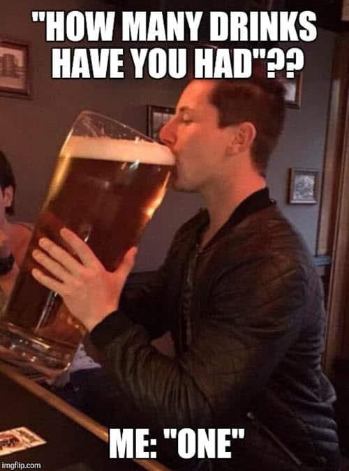 drinking how many meme