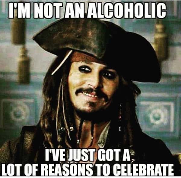 drinking not an alcoholic meme