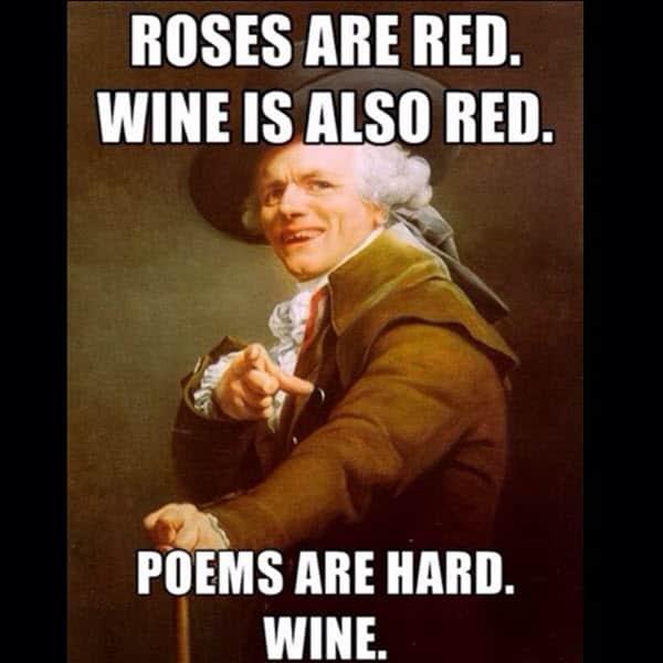 drinking poem meme