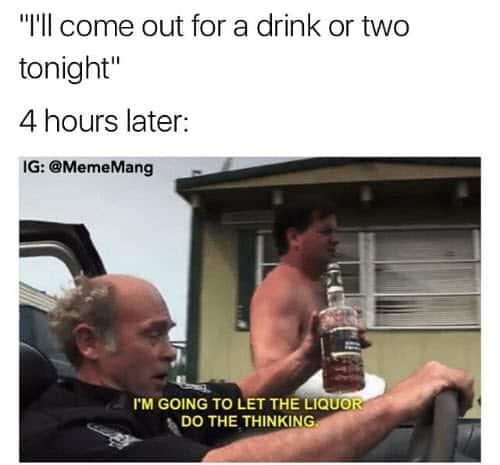drinking tonight meme